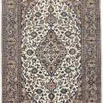 Beige Kashan Persian carpet for sale 2x3m DR231-6890