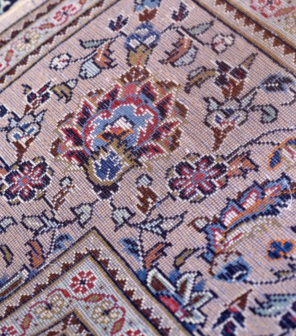 Bright Cream Kashan Persian rug for sale 2x3m DR360
