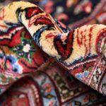 Dark blue Jozan Persian Rug, Persian carpet for sale DR315