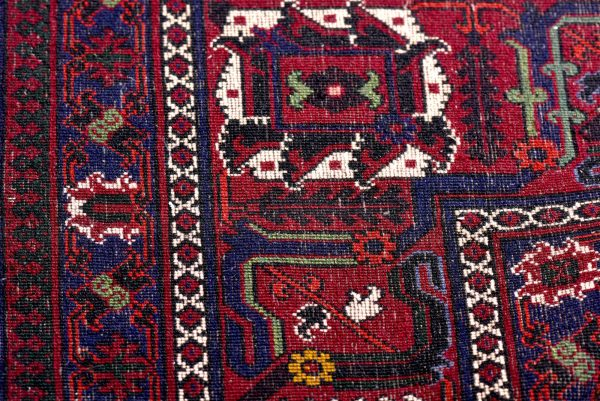 Red joschaghan Persian carpet for sale 3x4m DR352