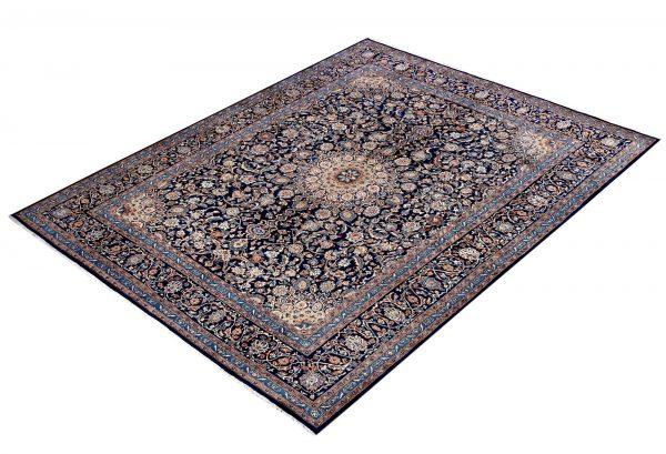 Dark Blue Kashan Persian Rug for sale 3x4m DR151-7068