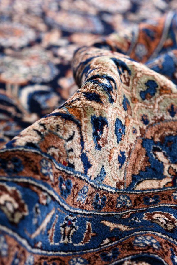 Dark Blue Kashmar Persian Rug for sale 3x4m DR151