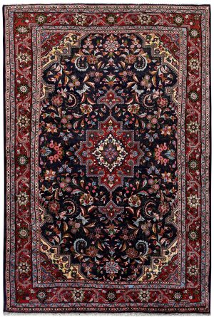 Dark blue Jozan Persian Rug, 1.5x2.5m carpet for sale DR315-7053