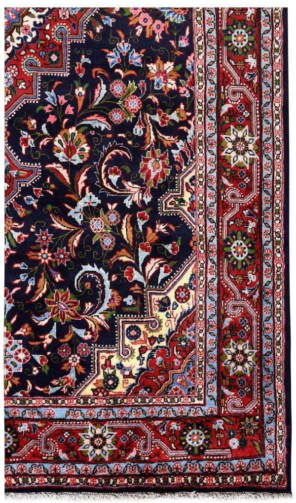 Dark Blue Jozan Persian Rug