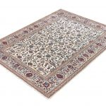 Ivory Beige Kashan rug Persian carpet for sale 2x3m DR373-7047-2