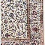 Ivory Beige Kashan rug Persian carpet for sale 2x3m DR373-7048