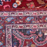 Red Mashad rug, large Persian carpet for sale DR125-6995