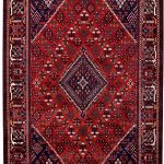 Red joschaghan Hand-knotted Persian rug for sale DR372-7057