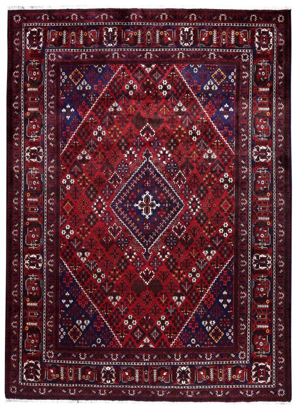 Red joschaghan Persian carpet for sale 3x4m DR352-7064