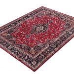 Rose Red Mashad rug large Persian carpet for sale DR145-1