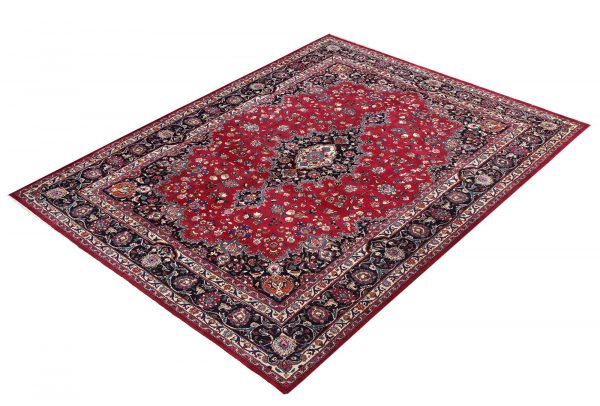 Rose Red Mashad rug large Persian carpet for sale DR145-7077