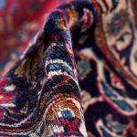Rose Red Mashad rug large Persian carpet for sale DR145-6996