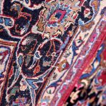 Rose Red Mashad rug large Persian carpet for sale DR145-7000