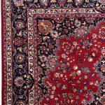 Rose Red Mashad rug large Persian carpet for sale DR145-7078
