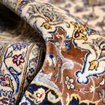 Soft Kurk beige Kashan Persian Rug for sale 3x4m DR220-6935
