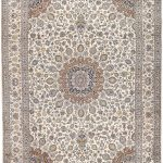Soft Kurk beige Kashan Persian Rug for sale 3x4m DR220-7034