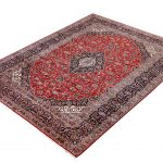 Soft Red Kashan Persian Rug for sale 2x3m DR716