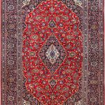 Soft Red Kashan Persian Rug for sale 2x3m DR716-6887