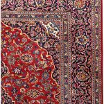 Soft Red Kashan Persian Rug for sale 2x3m DR716-6888