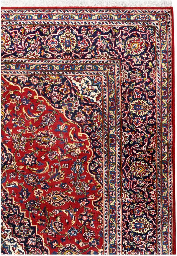 Kashan Persian Rug For 2x3m Dr716
