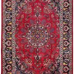Soft Red Mashad Persian Rug for sale 2x3m DR153-6884