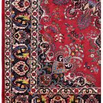 Soft Red Mashad Persian Rug for sale 2x3m DR153-6885