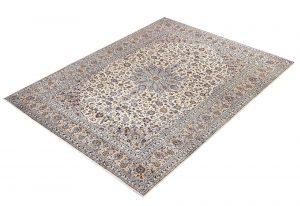 Kashan Rug, Cream Persian carpet for sale 3x4m DR377-6914