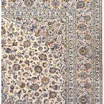 Kashan Rug, Cream Persian carpet for sale 3x4m DR377-7029