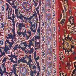 Authentic Red Persian Kashan carpet for sale DR-359-6904