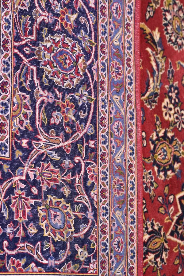 Authentic Red Persian Kashan carpet for sale DR-359-6902