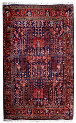 Blue koliai persian rug-DR-341-7258