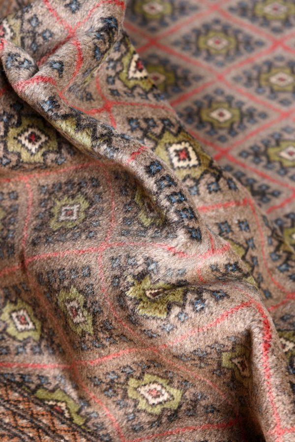 Brown Bukhara Turkaman carpet for sale DR378-6942
