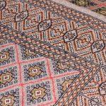 Brown Bukhara Turkaman carpet for sale DR378-6944