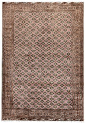 Brown Bukhara Turkaman carpet for sale DR378-7039