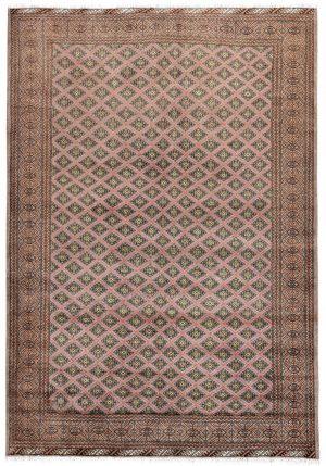 Brown Bukhara Turkaman carpet for sale DR378-7039