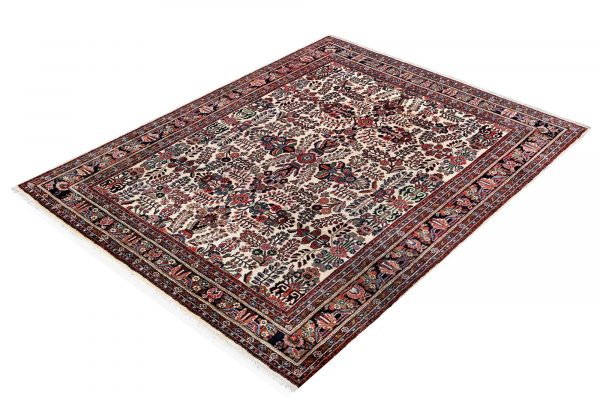50 years old Mehraban hand-knotted Persian carpet