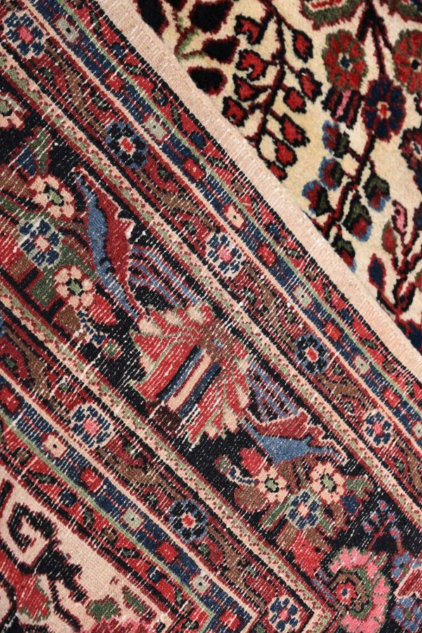 50 years old Mehraban hand-knotted Persian carpet-7311