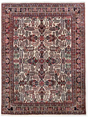 50 years old Mehraban hand-knotted Persian carpet -7313