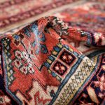 Old Persian Ardabil rug for sale-DR429-6648