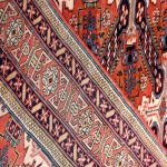 Old Persian Ardabil rug for sale-DR429-6651