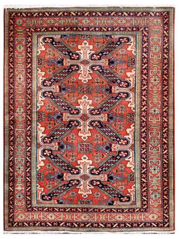 Old Persian Ardabil rug for sale-DR429-7278