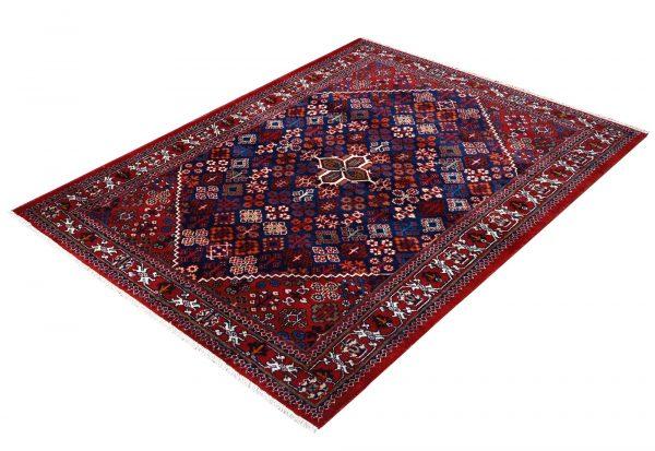 Red Persian Joshaqan rug for sale DR390