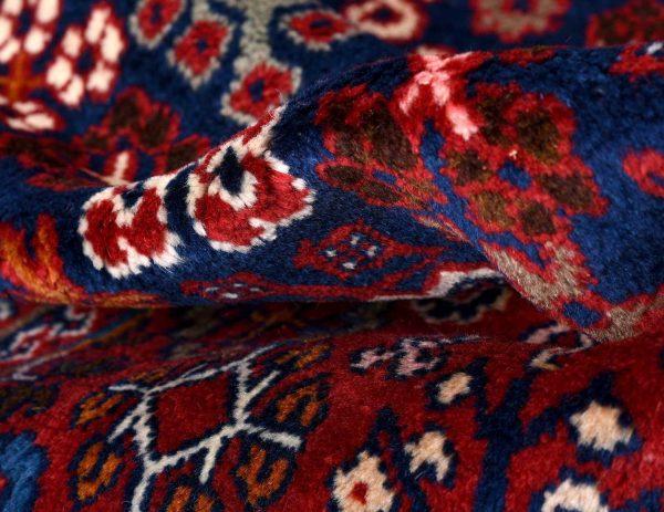 Red Persian Joshaqan rug for sale DR390-7185