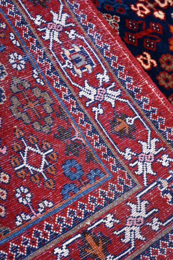 Red Persian Joshaqan rug for sale DR390-7186