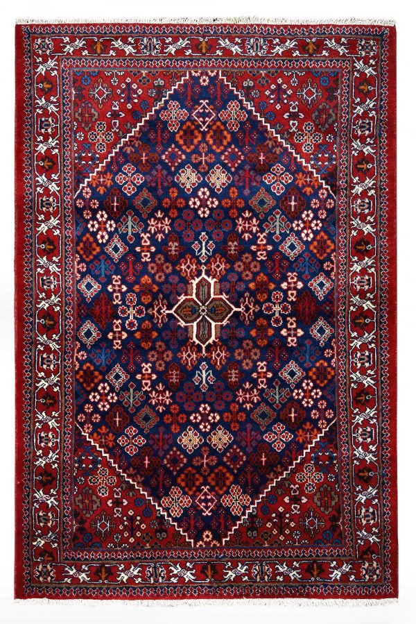 Red Persian Joshaqan rug for sale DR390-7219