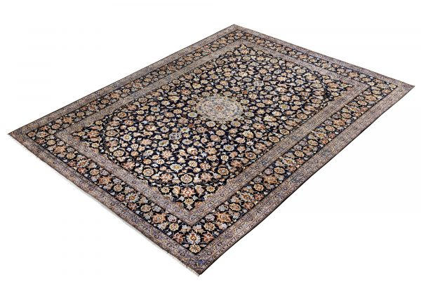 Beautiful 3x4 Persian Carpet for sale Kashan Rug DR-427