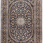 Beautiful 3×4 Persian Carpet for sale Kashan Rug DR-427-7298