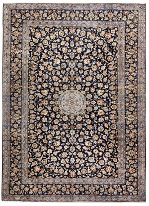 Beautiful 3x4 Persian Carpet for sale Kashan Rug DR-427-7298