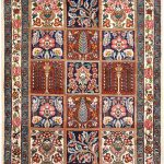 New Handmade Tribal Persian Rug for sale online DR340-7261