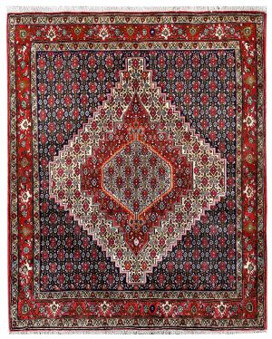 Senneh Kurdish hand knotted Rug for sale DR-310-7252
